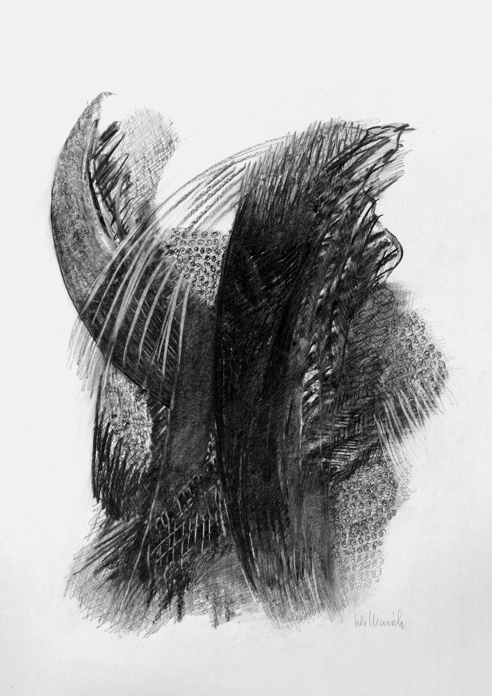 Fragment eines Flügels